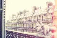 Snow in Paris | via Tumblr