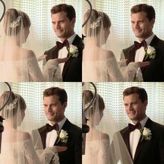 """#ChristianGrey is so happy to be married! #AnaGrey #FiftyShadesFreed #FiftyShades #FSF #JamieDornan…"""""""