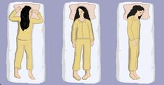 The Best Positions for Sleep.  Sleeping in the right position can prevent wrinkles, acid reflux, back pain, sagging boobs and more!