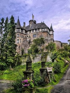 Berlepsch Castle, Hesse, Germany