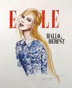 Valentino - Elle cover