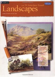Acrylic: Landscapes with TV Artist Jerry Yarnell, By Jerry Yarnell // $10.95 CAD // $8.34 USD