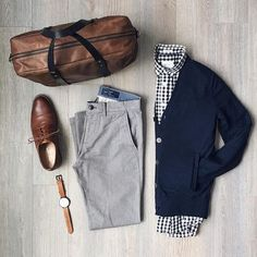 twill chinos turn a casual outfit to classy