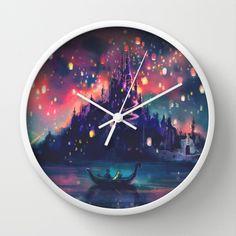 Tangled clock. Can I pleassssse get it?! @Abby Bennett