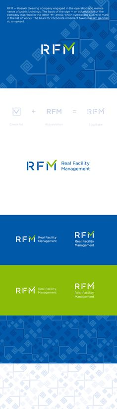 RFM. Logo & corporate identity on Behance