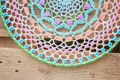 What do you know about crochet mandala pattern? It is a beautiful crochet pattern that can be adapted for creating a functional crochet item. Crochet Mandala is typical in which it has a circular shape and various colors of the… Continue Reading → Motif Mandala Crochet, Mandala Rug, Crochet Doilies, Crochet Gratis, Free Crochet, Knit Crochet, Crochet Afghans, Mandalas Painting, Mandalas Drawing