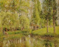 Camille Pissarro | Autour de l'impressionnisme / Impressionnisme / PISSARRO Camille ...