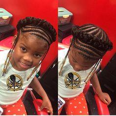 Braid Styles for Long Hair Lil Girl Hairstyles, Black Kids Hairstyles, Natural Hairstyles For Kids, Kids Braided Hairstyles, My Hairstyle, Natural Hair Styles, Teenage Hairstyles, Wedding Hairstyles, Dreadlock Hairstyles