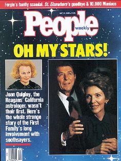 La astróloga que condicionó las decisiones tomadas por Ronald Reagan - Cuaderno de Historias