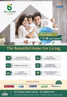 Live in the modern world of all the luxury with #BollywoodGreenCity Sector 113, #Landran Chowk, Mohali Punjab.140307 Call Us - 7529035008 , 9592411212