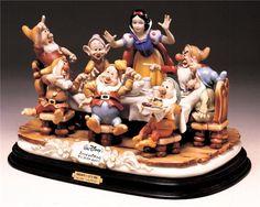 Disney Laurenz Capodimonte Disney Snow White Dinner - Rena's Collectibles
