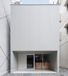 House in white ~ contemporary, minimalist ~ Japan