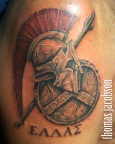 trojan helmet tattoos - Google Search