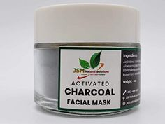 Activated charcoal powder mask Blackhead and whitehead remover mask, Deep cleasing facial mask, detox and purifying m... Aloe Vera Powder, Aloe Vera Gel, Activated Charcoal Face Mask, Purifying Mask, Glass Skin, Lemon Essential Oils, Even Skin Tone, Blackhead Remover, Natural Solutions