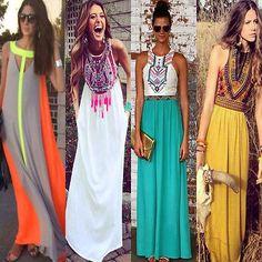 Chiffon maxi dress ebay uk