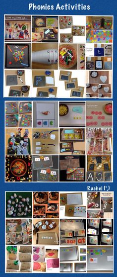 "An album of Phonics Activities from Rachel ("",)"