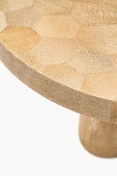 Shagreen mosaic coffee table inspired by the aesthetic vision of Jean-Royere.  http://atelierviollet.com/blog/shagreen-mosaic-coffee-table/