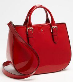 My amazing kate spade red bag...www.dawncookdesign.com