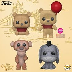 New Christopher Robin Funko POP! Figures Available Now