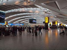 Terminal 5 Heathrow airport London