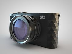 SMÄCK Trigon - Camera & Packaging concept by Mårten Andersson, via Behance