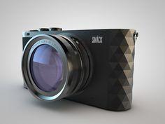 SMÄCK Trigon - Camera & Packaging concept by Mårten Andersson, via Behance