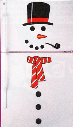 Amazon.com: 13 PIECE SNOWMAN REFRIGERATOR MAGNET SET: Snowman Fridge Magnet: Kitchen & Dining