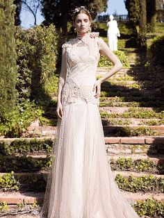 Bremen bridal gown by YolanCris | Heavenly Sisters  #wedding #weddingdresses #bridal #gowns #romantic #classic #elegance #ethereal #couture #novia #sposa #noiva #mariée #abiti #sleeve