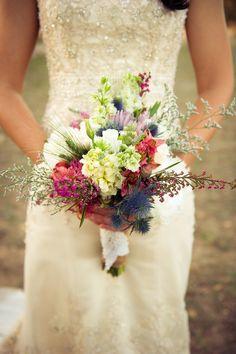 Beautiful Vintage Wedding Bouquet