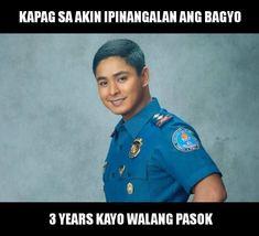 Sana tes...s a n a Memes Pinoy, Memes Tagalog, Pinoy Quotes, Tagalog Love Quotes, Tagalog Quotes Hugot Funny, Hugot Quotes, Funny Qoutes, Funny Memes, Hilarious