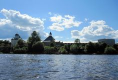 View of the fortress of Staraya Ladoga from the Volkhov Ladoga 2014