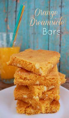 Orange Dreamsicle Bars on MyRecipeMagic.com