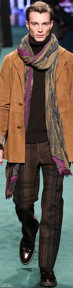 Etro 2015 | Men's Fashion | Menswear | Men's Outfit for Fall/Winter | Moda Masculina | Shop at designerclothingfans.com