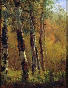 Thomas Worthington Whittredge | Birch Trees