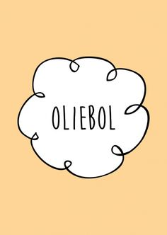 Oliebol. Kaartje byBean. Je shopt 'm hier: www.bybean.nl/kaartjeoliebol Best Quotes, Funny Quotes, Licht Box, Dutch Words, Just Saying Hi, Short Messages, Merry Happy, Dutch Quotes, Diy Christmas Cards