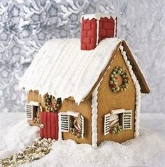 Gingerbread house... mine was better just saying :)