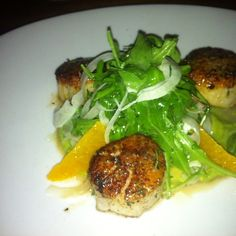 Brasserie Beck - French Belgian cuisine - Seared Scallops - Foodspotting