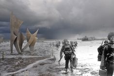 WWII Photographs / before & today