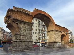 Arch of Galerius, Thessaloniki