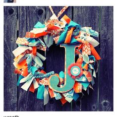 Can't help it. I love wreaths!