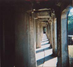 The corridors of Angkor print
