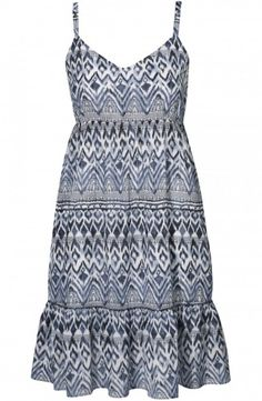 Martina Dress Indigo Blue