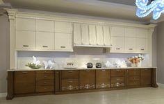 Dvoubarevná luxusní kuchyňská linka od italské firmy Arca. Jejich kompletní nabídku naleznete na našich internetových stránkách: http://www.saloncardinal.com/arca-3bb