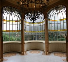 Art Nouveau Architecture | Hôtel Max Hallet: écho de la visite