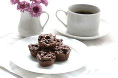 Flourless Chocolate Avocado Mini Muffins