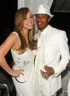 "Mariah Carey Photos - Singer Mariah Carey and husband Nick Cannon attend the White Party hosted by Sean ""Diddy"" Combs and Ashton Kutcher to help raise awareness for Malaria No More held at a Private Residence on July 4, 2009 in Beverly Hills, California. - Sean ""Diddy"" Combs, Ashton Kutcher and Malaria No More Host The White Party"