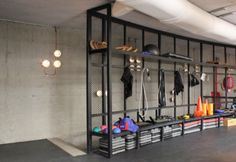 Dubai-based Anarchitect creates industrial interiors for boutique ...