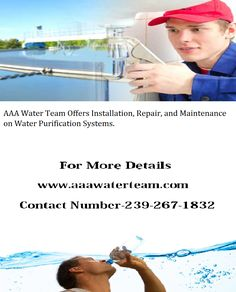 AAA Water Team offers Sales, Service and Repairs on all kinds of Water Systems and Treatments inc. Reverse Osmosis Systems and Well Water Systems.