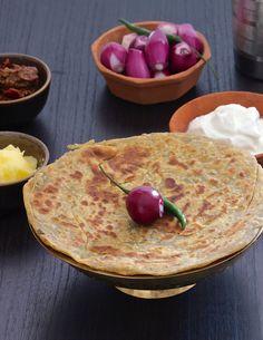 Methi Paratha: 1 Cup Chopped methi, 1.5 Cups Wheat Flour, Salt to taste, ¼ tsp Cumin seeds, ¼ tsp Ajwain, Pinch of Turmeric Powder