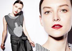HAIR ASHLEIGH CROKER @ VALONZ Makeup: Nadine Monley  Stylist: Billie Iveson @ Russh Model: Ollie Henderson @ Chic Photography: Jason Ierace @ Reload Agency